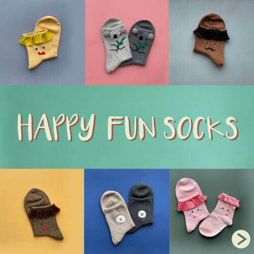 ♪HAPPY FUN SOCKS♪