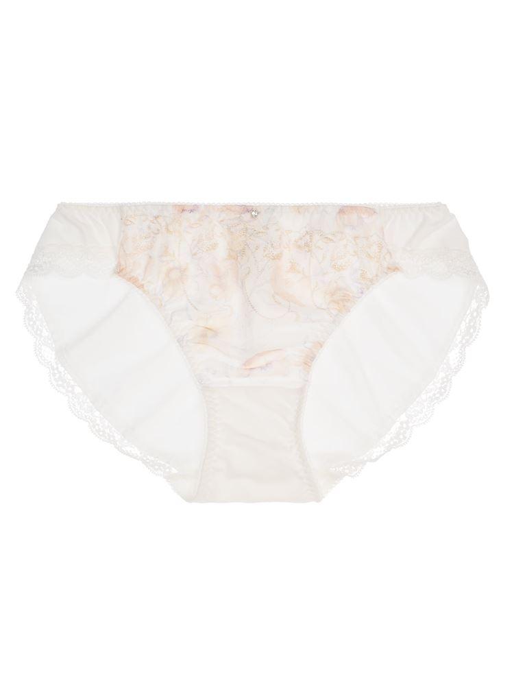 [夏・365日きれいブラ]ラチッタフィオーレ綿混フルショーツ