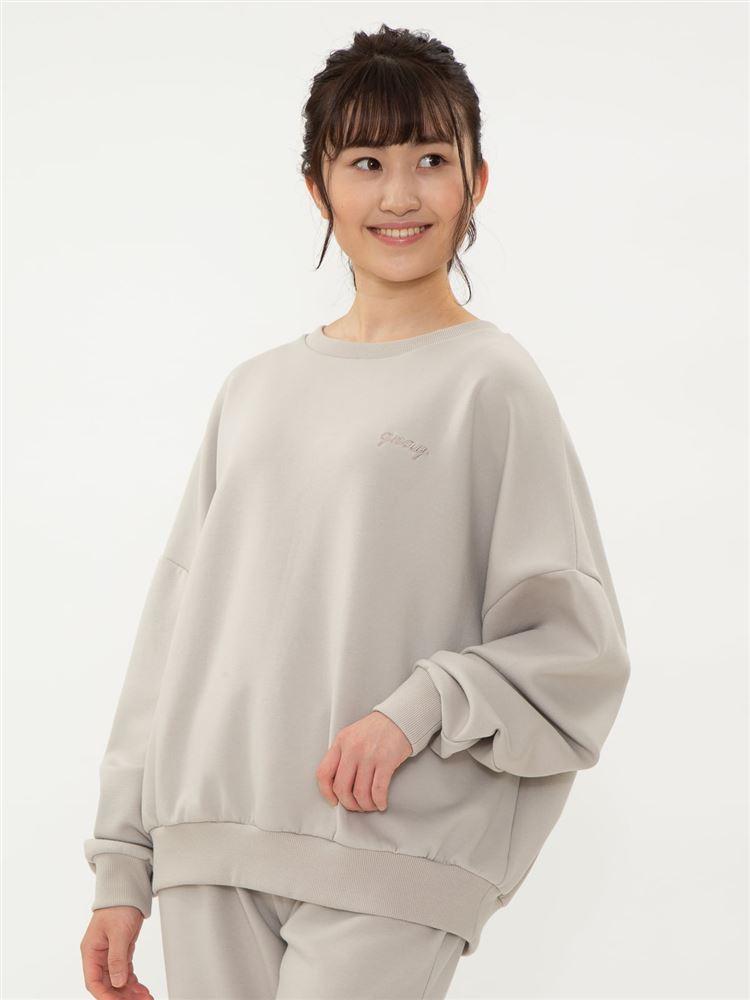 【橋下美好オリジナル】刺繍スウェットプルオーバー
