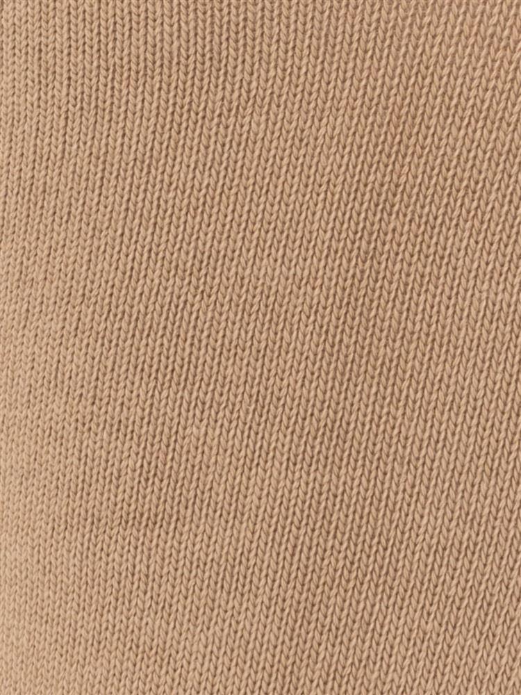 リブ3つ折り綿混ソックス20cm丈