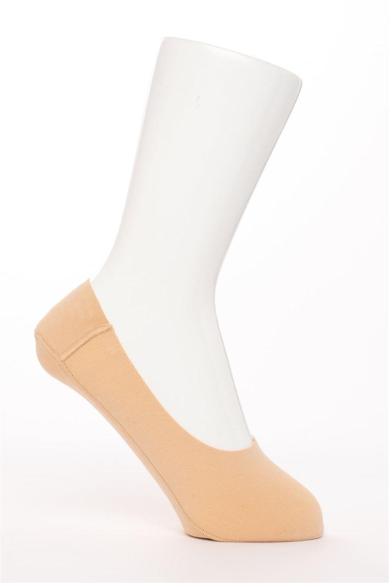 [かかとピタッと]綿混深履きカバーソックス