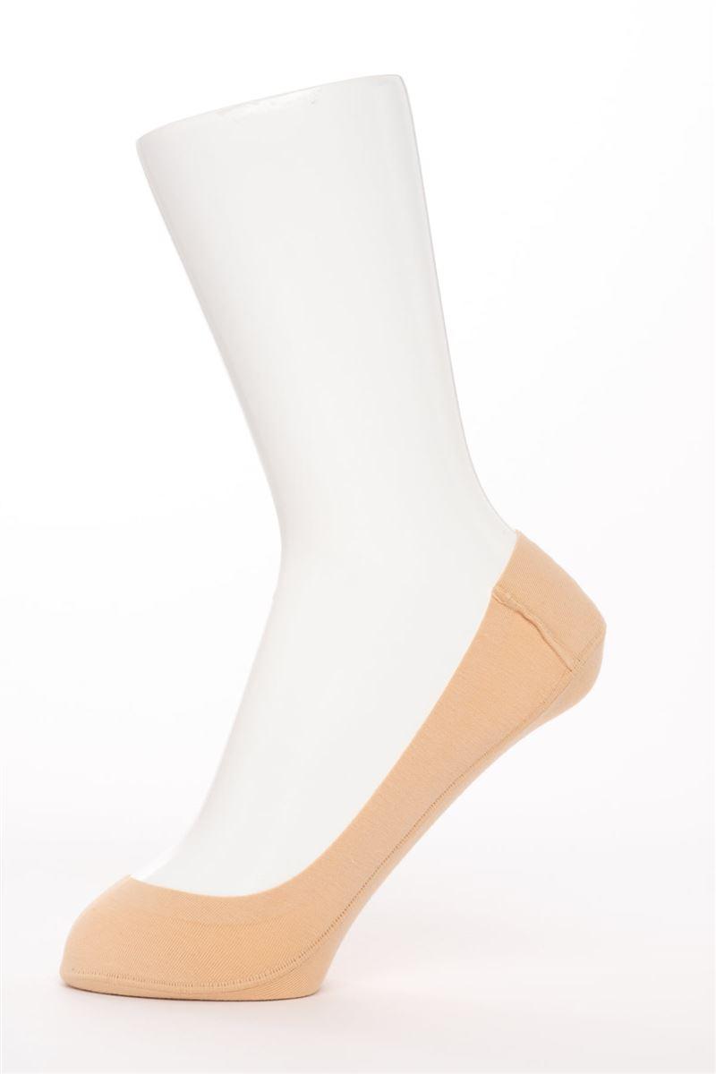 【5足組】[かかとピタッと]綿混浅履きカバーソックス