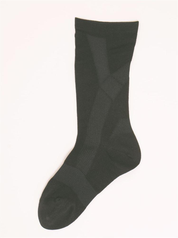 [健康と美研究所]脚シェイプソックス【抗菌防臭・DRY】