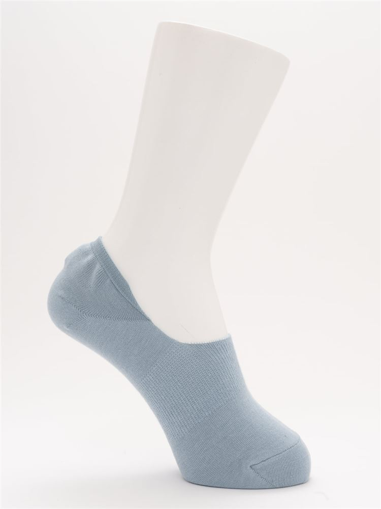 [ストレス0靴下]DRY消臭超深履きカバーソックス