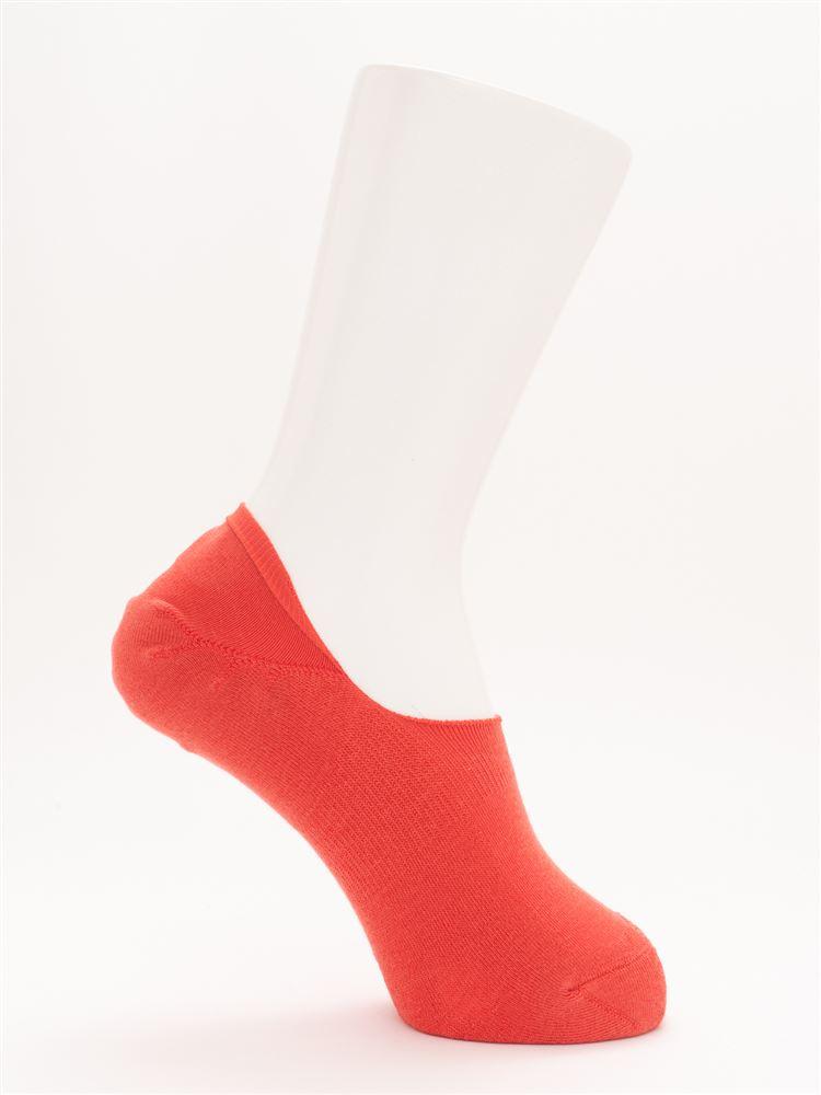 [ストレス0靴下]消臭無地パイル超深履きカバーソックス