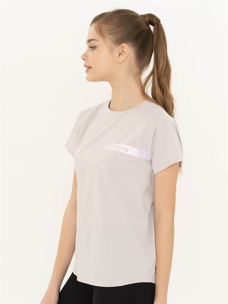 [スポーツ]天竺keepgoingラグランTシャツ