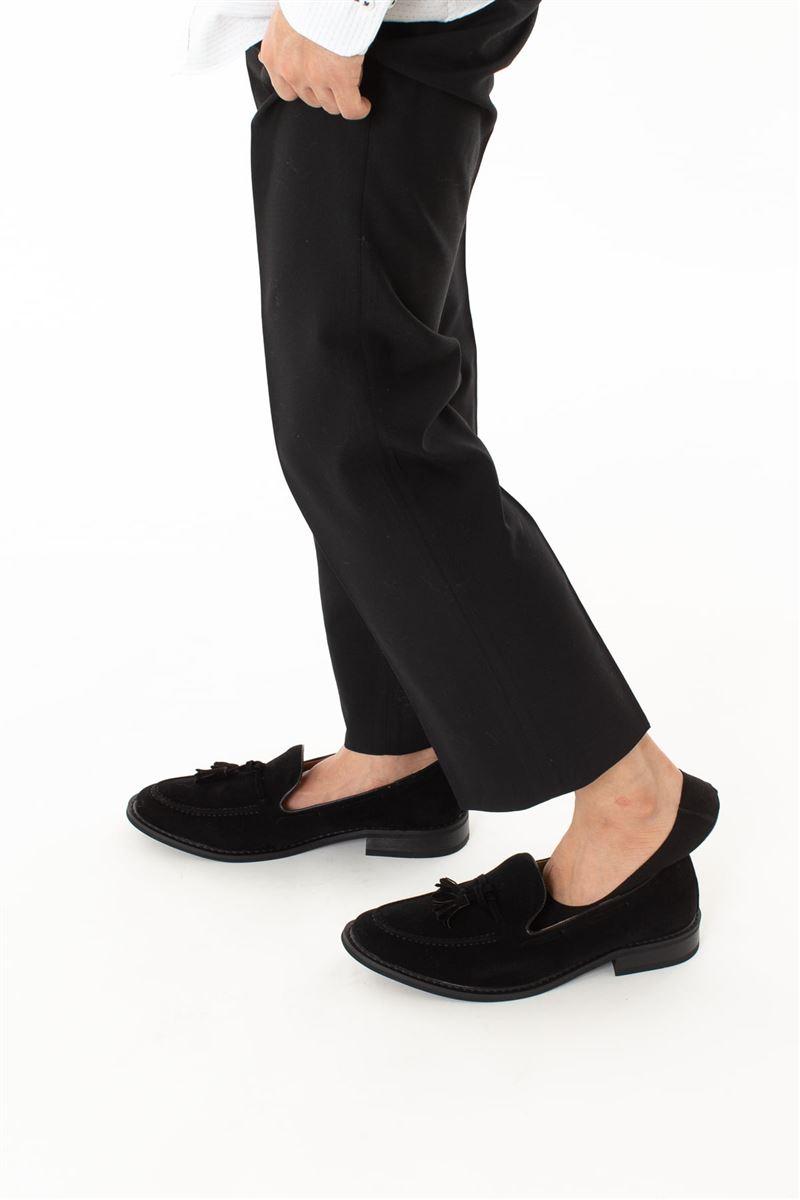 [かかとピタッと]綿混深履きメンズカバーソックス