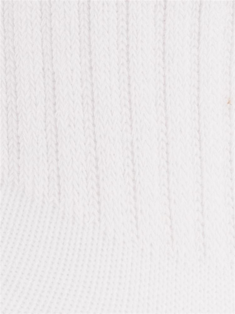 デオドラント綿混アメリブ無地ソックス10cm丈