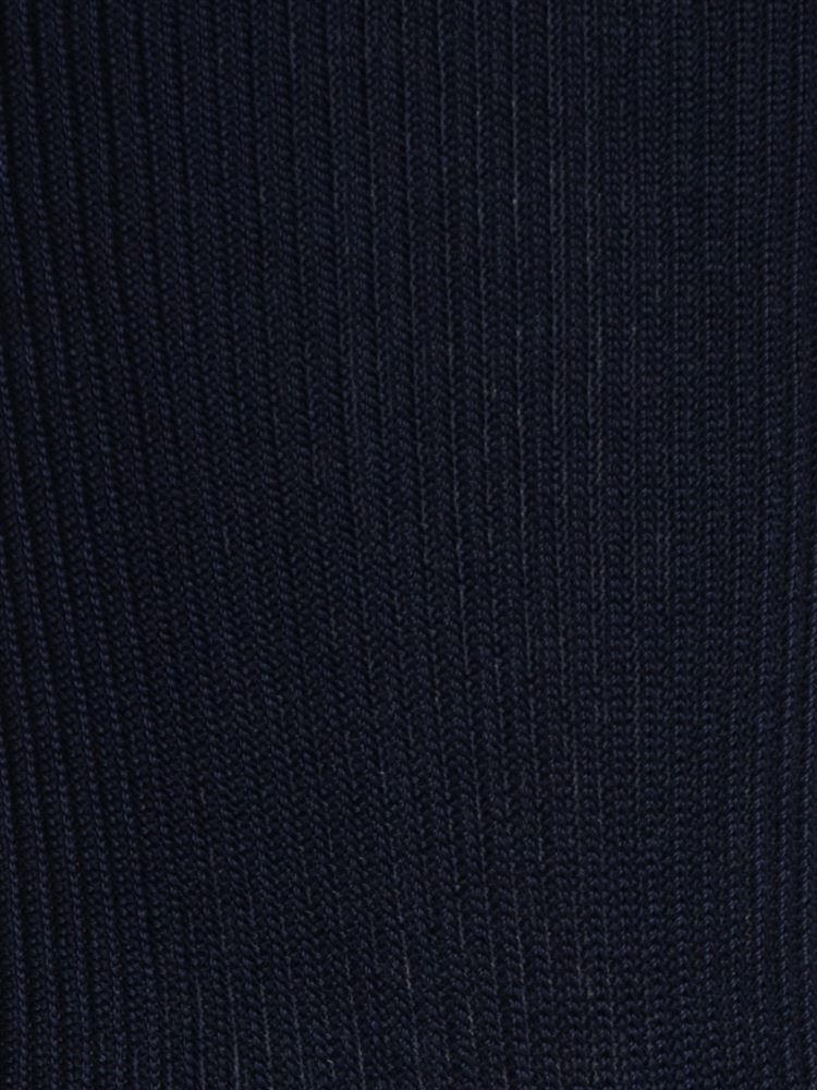 光沢糸リブソックス14cm丈