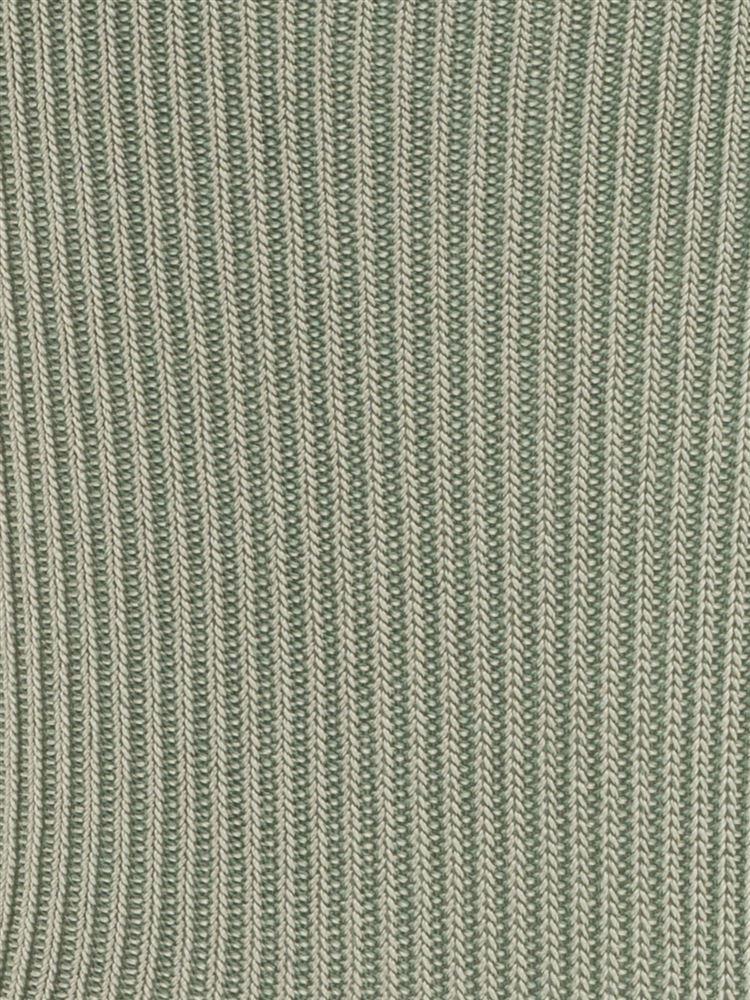 [レディライン]光沢糸リブソックス14cm丈