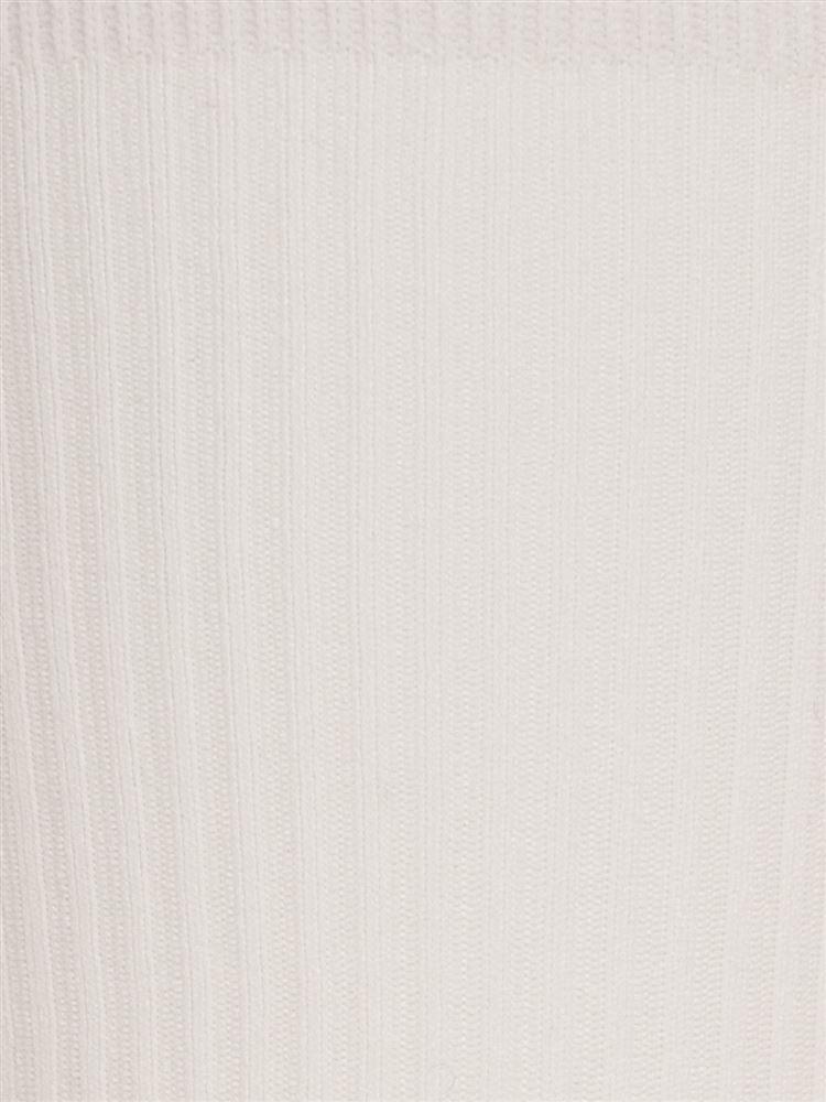 [レディライン]ハイマルチナイロンリブクルー16cm丈