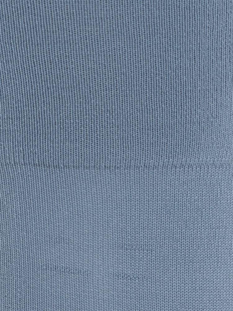 [レディライン]ハイマルチナイロン深すくい無地ソックス14cm丈