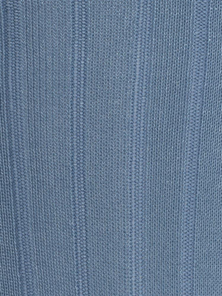[レディライン]光沢糸太リブソックス18cm丈
