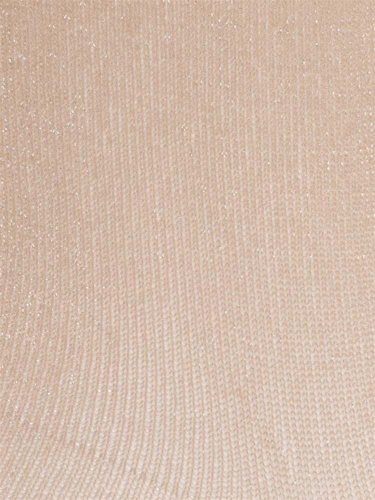 薄手ラメメローソックス12cm丈