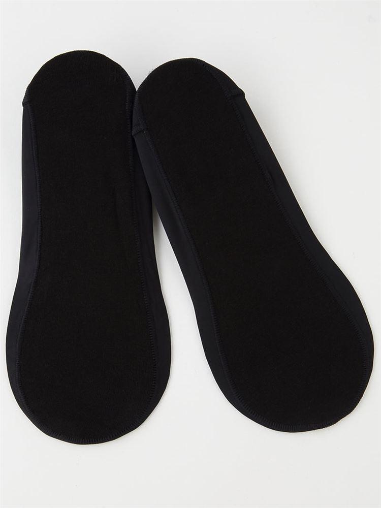 [かかとピタッと]浅履きカバーソックス