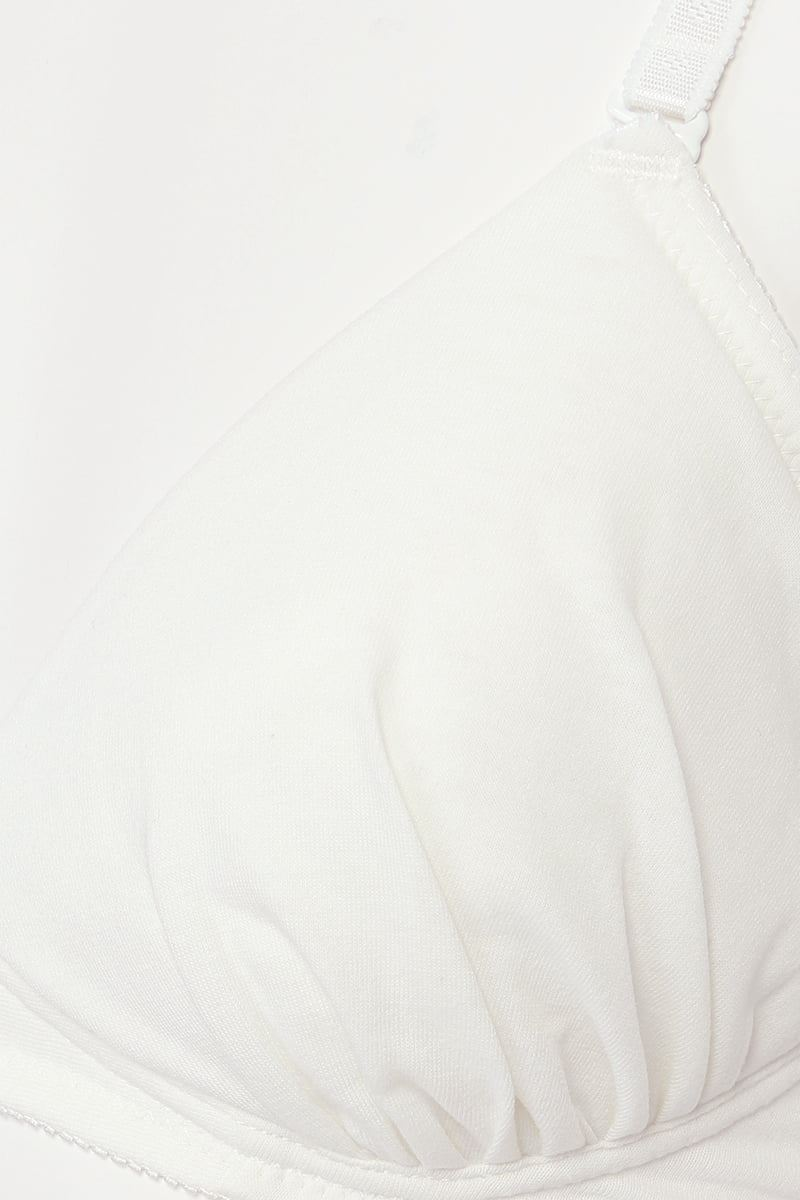 [tutuプチ]STEP3・ジュニア用ノンワイヤーブラ(白)