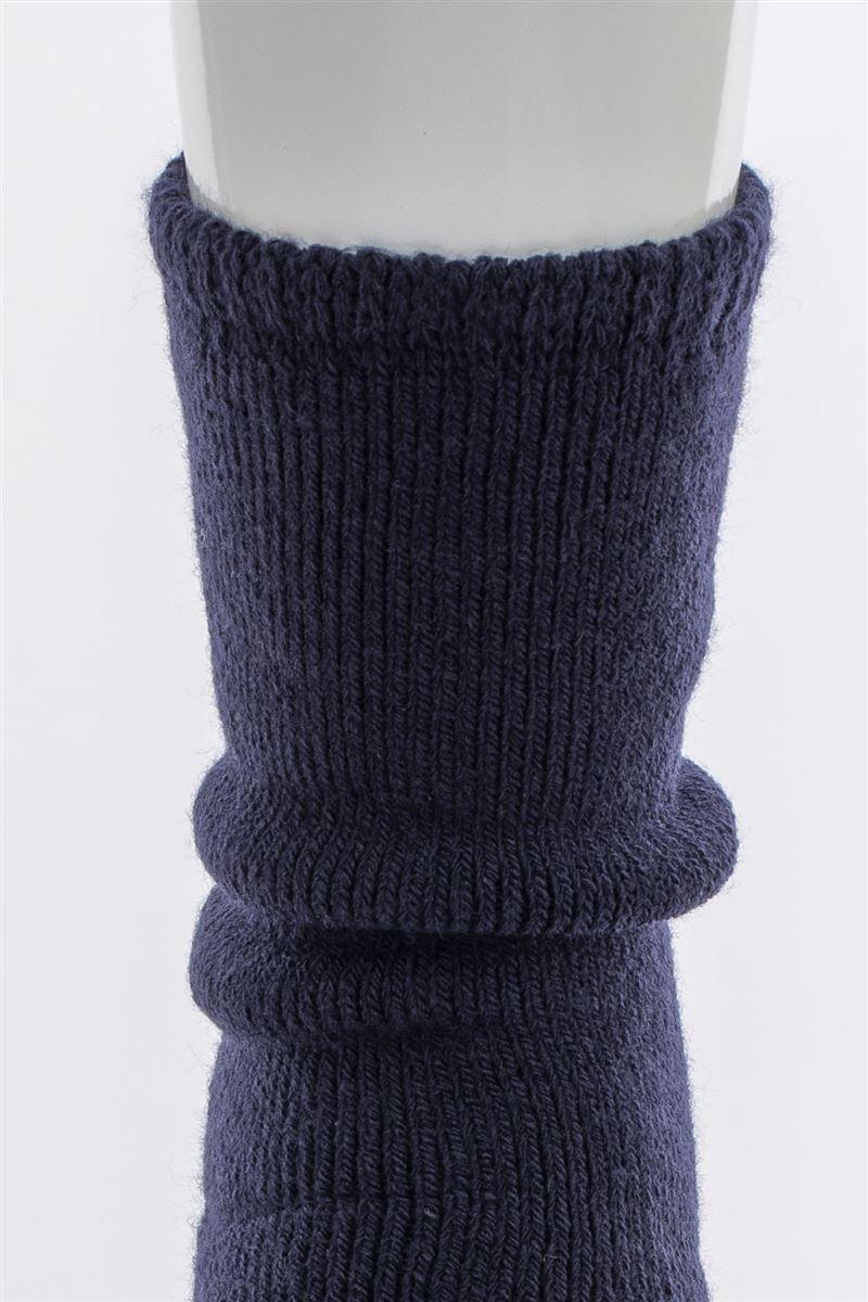 毛布のようにあたたかい裏起毛ソックス21cm丈