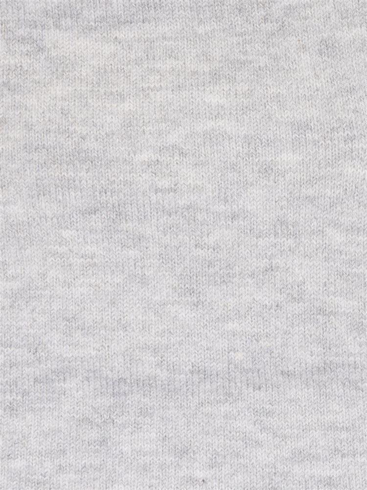 綿レーヨンシルク無地5本指ソックス13cm丈