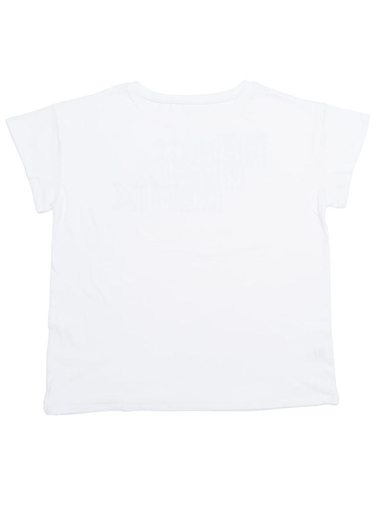バックロゴドロップTシャツ