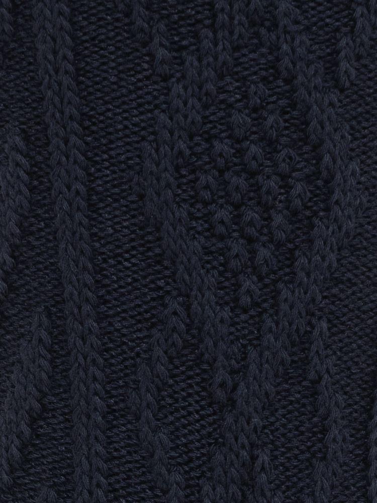 [メンズ]リンクスダイヤ柄ソックス17cm丈