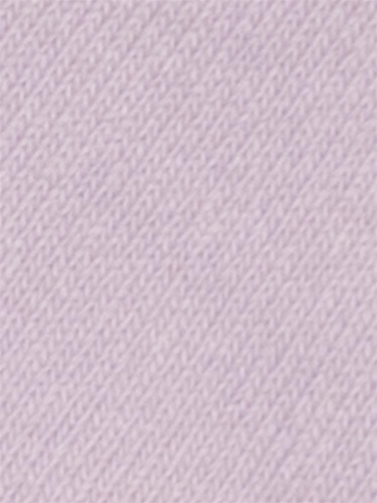 [キッズ]綿混履き口フリルバックサテンリボン付きソックス