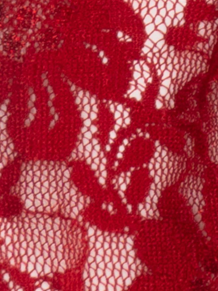 花柄レース足袋ソックス13cm丈