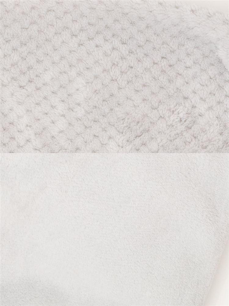 メッシュジャガード柄マイクロファイバーパジャマ