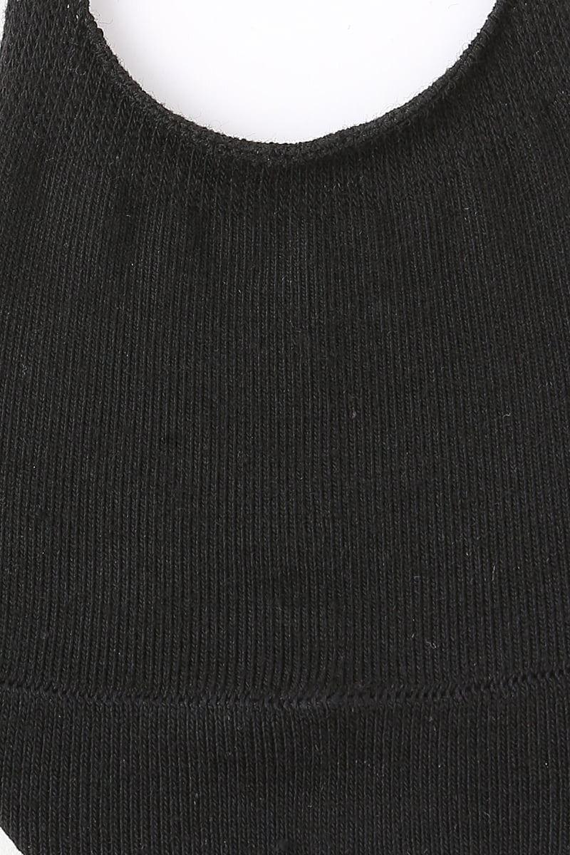 [3足組]無縫製無地深カバーソックス