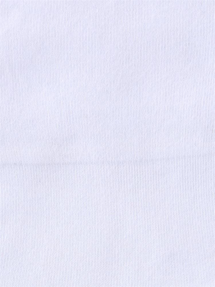 綿コーマ深すくい無地ソックス15cm丈