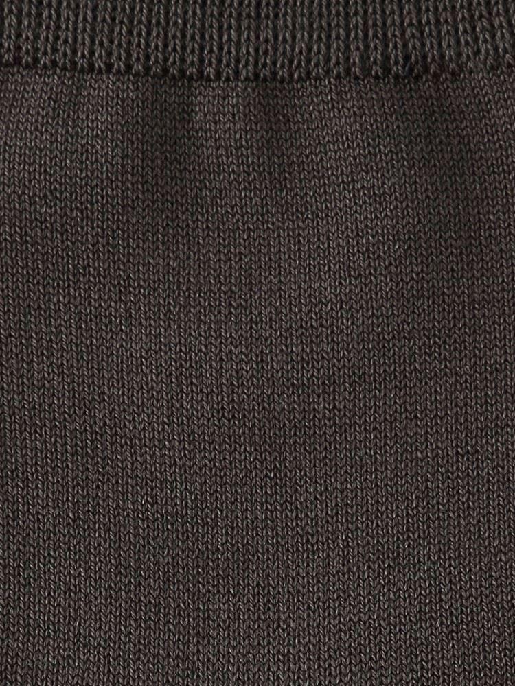 絹紡糸無地ソックス16cm丈
