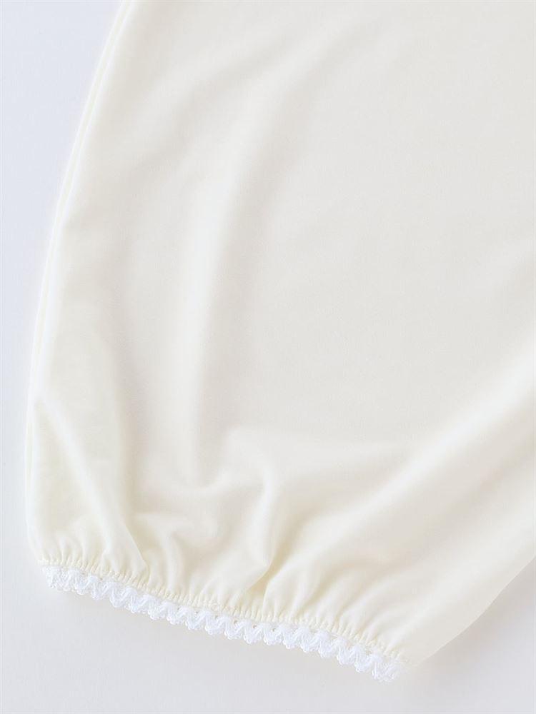 裾ゴム入りベア天キュロットペチコート7分丈