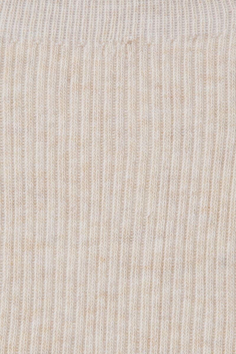 綿混リブ裾メローレッグウォーマー40cm丈
