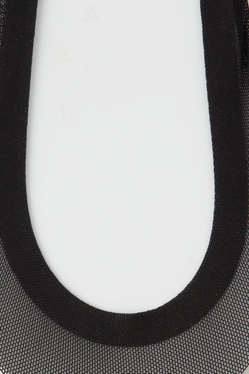 足底綿抗菌防臭滑り止め付きメッシュ浅履きカバーソックス