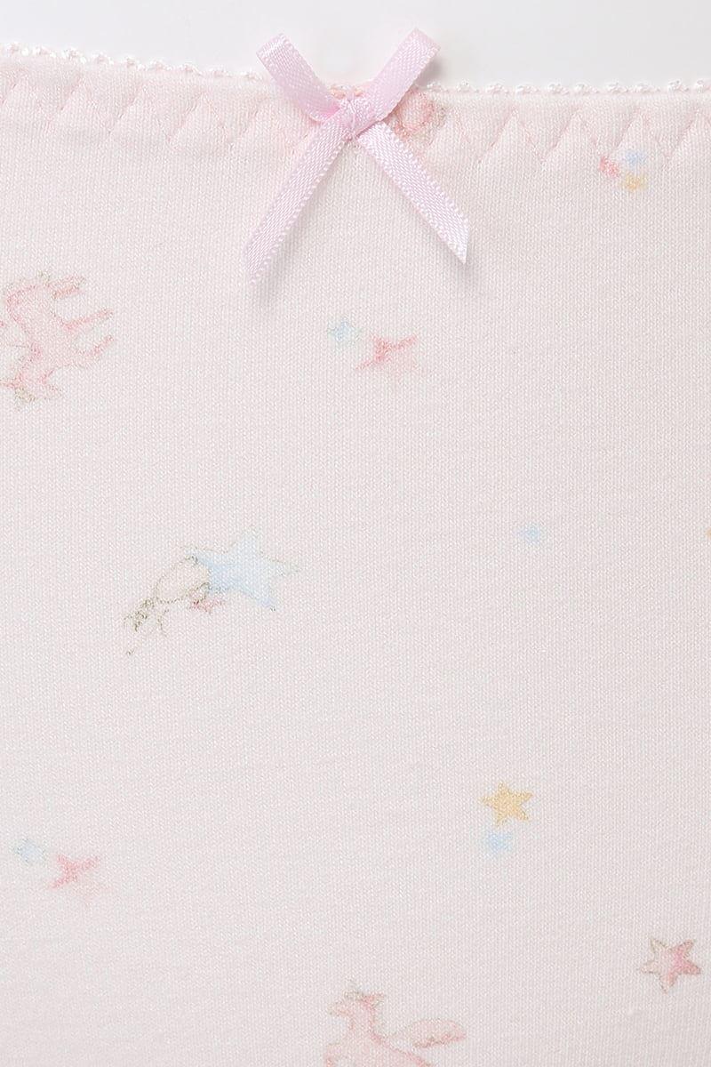 [tutuプチ]STEP3・ジュニア用ショーツ(ピンク・柄)