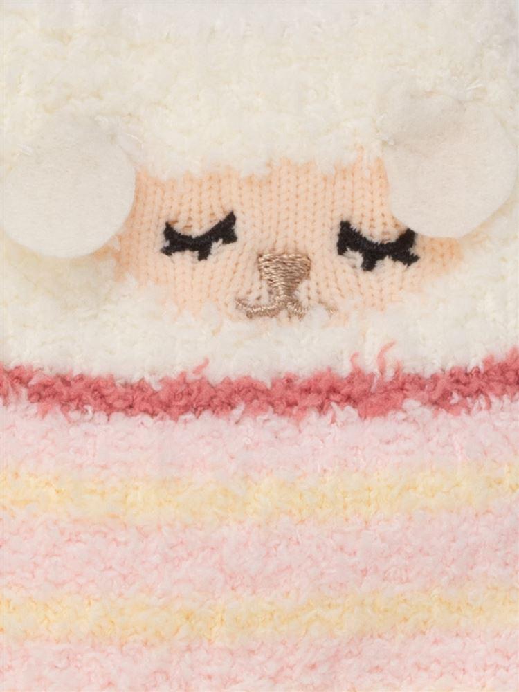 [キッズ]おやすみひつじルームソックス