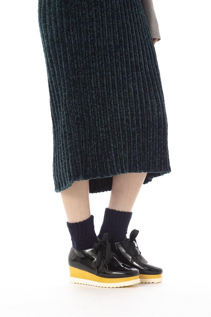 毛布のようにあたたかい裏起毛ソックス17cm丈