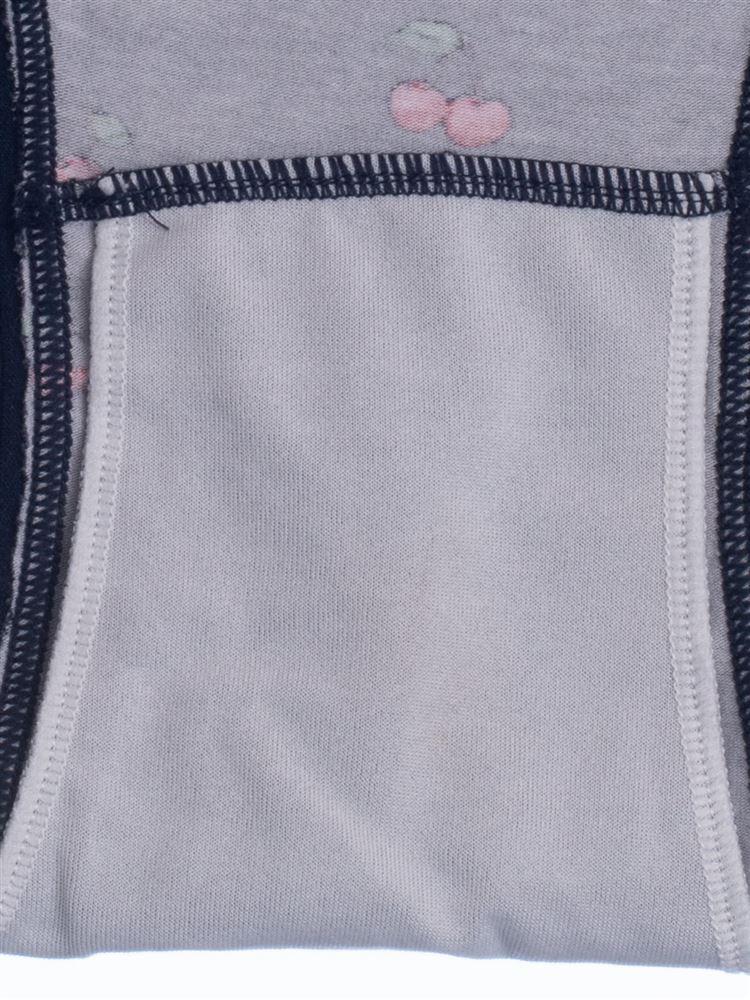サニタリー綿混チェリー柄フルショーツ(ナイト用)