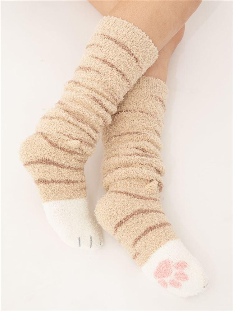 猫足になれるルームソックスくるぶし丈(WEB限定)