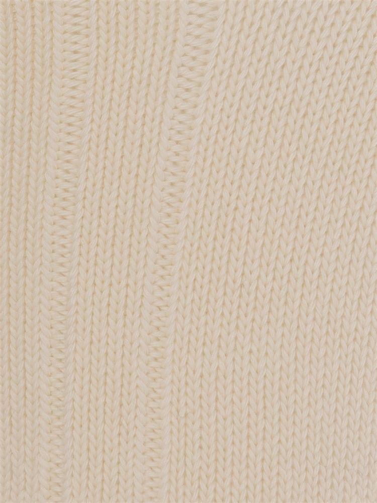 綿混CANPINGタグ付きリブソックス10cm丈