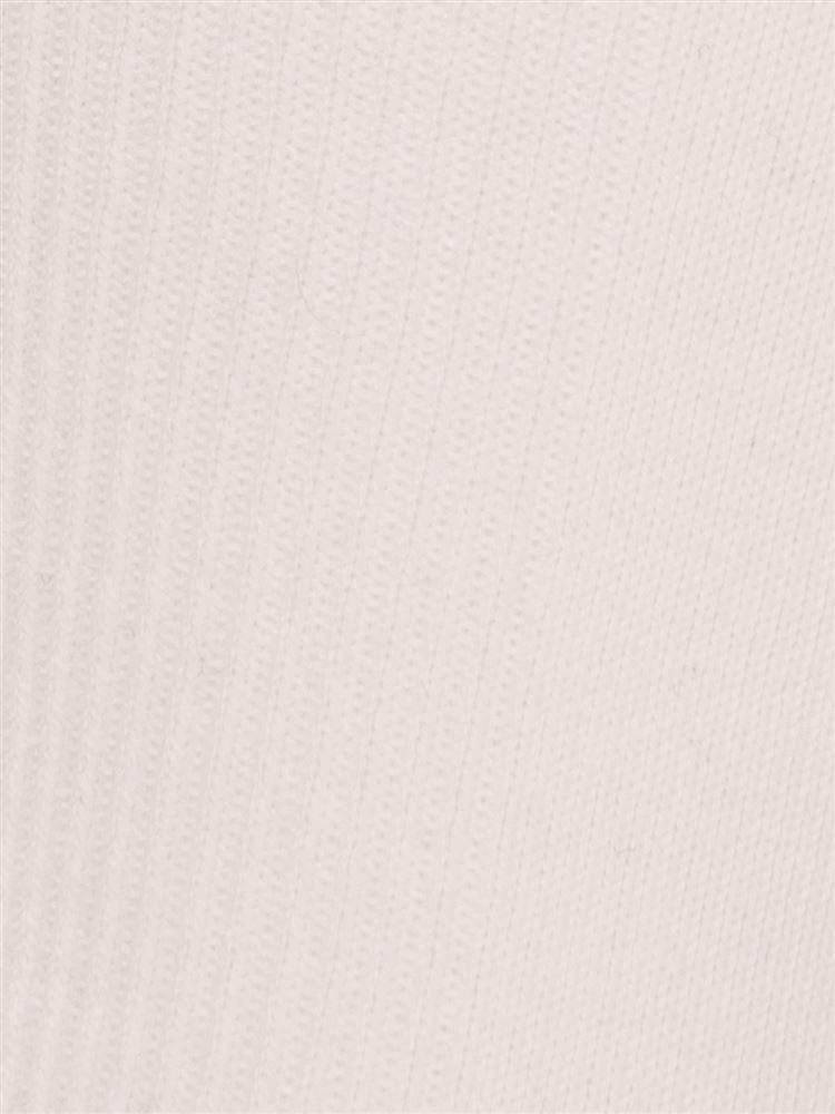 履き口メローパール付き花モチーフソックス10cm丈