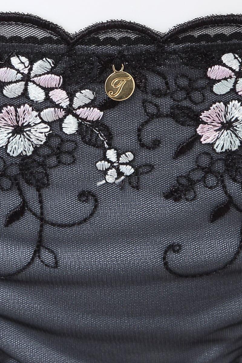 [ナチュラル・すっぴんメイクブラ]マルチ刺繍ショーツ