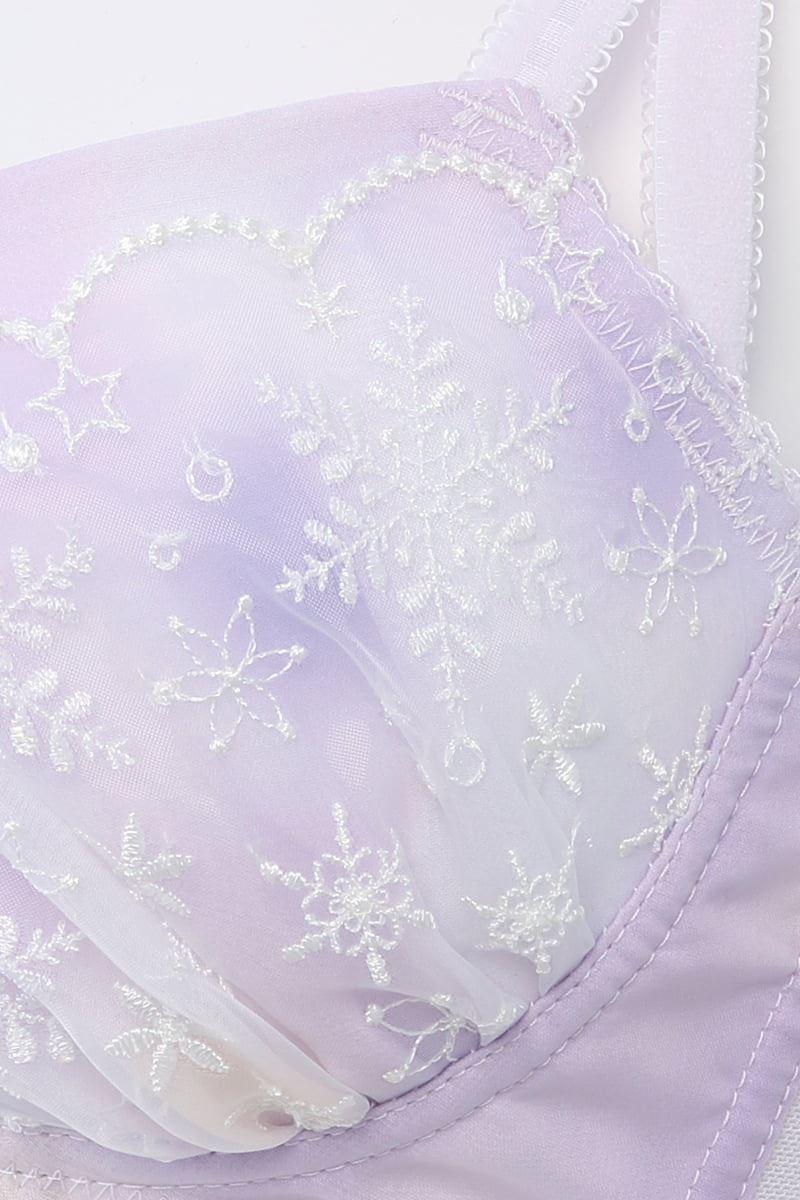 [ノンワイヤー・運命のブラ]milky snowノンワイヤーブラ