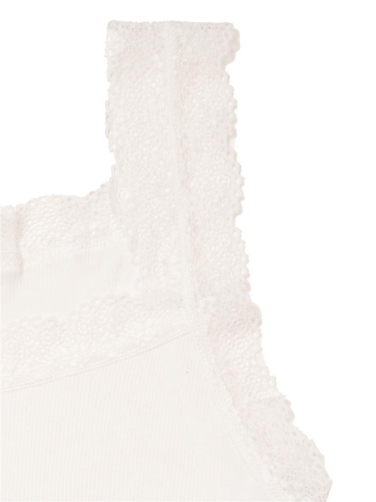 tutuCOOLリブレースタンクトップ