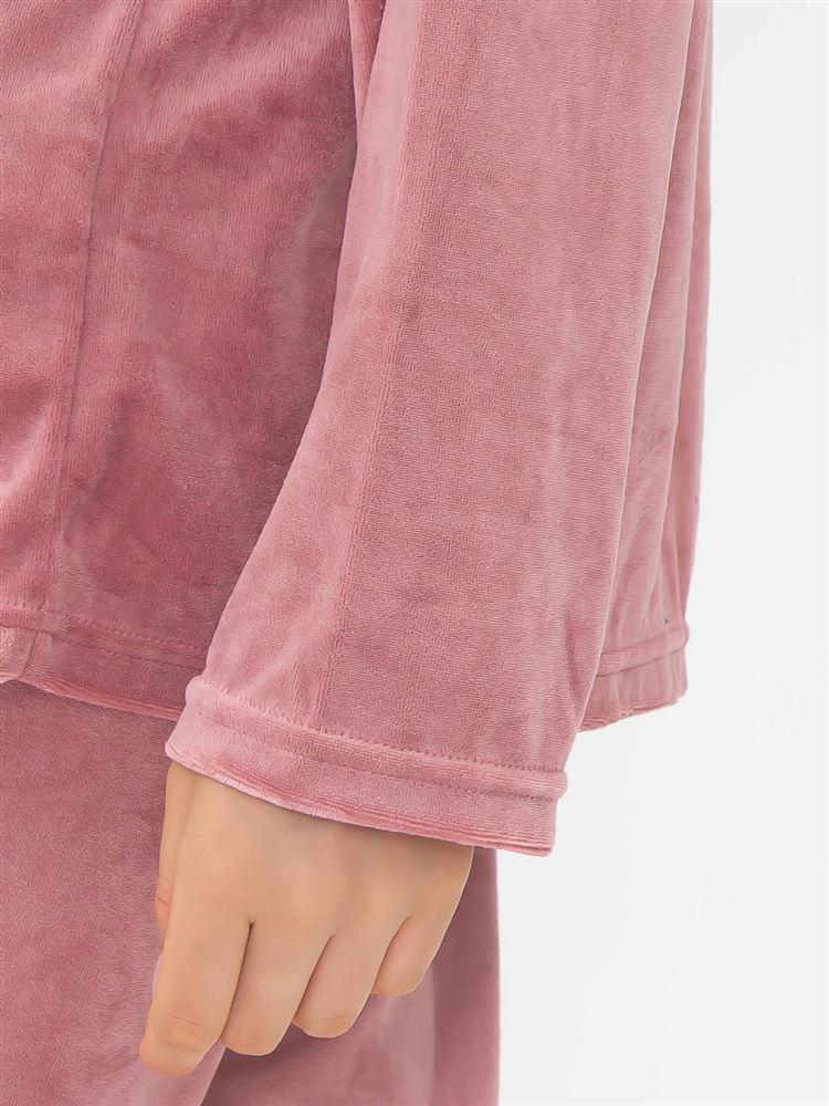 ベロア無地パジャマ