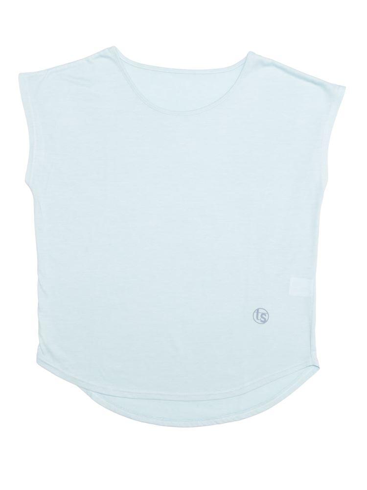 [スポーツ]ヨガ杢ドルマンTシャツ