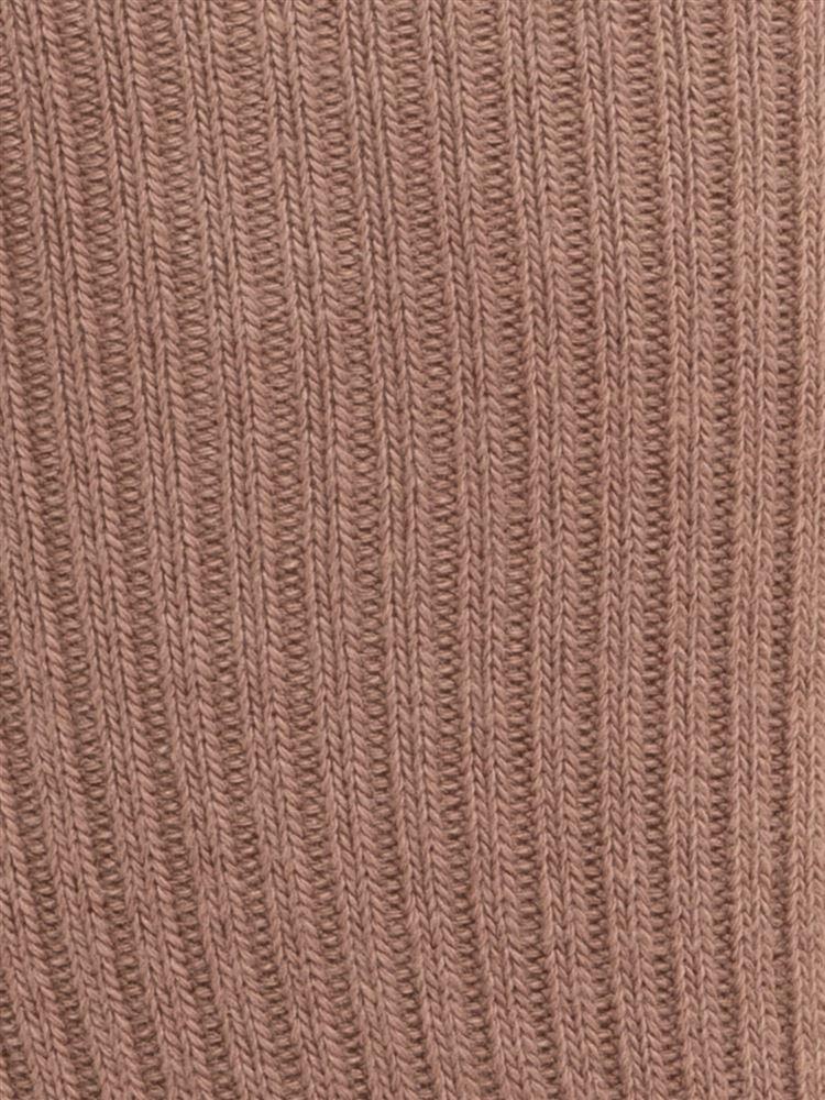 フロント編み上げリボンリブソックス18cm丈