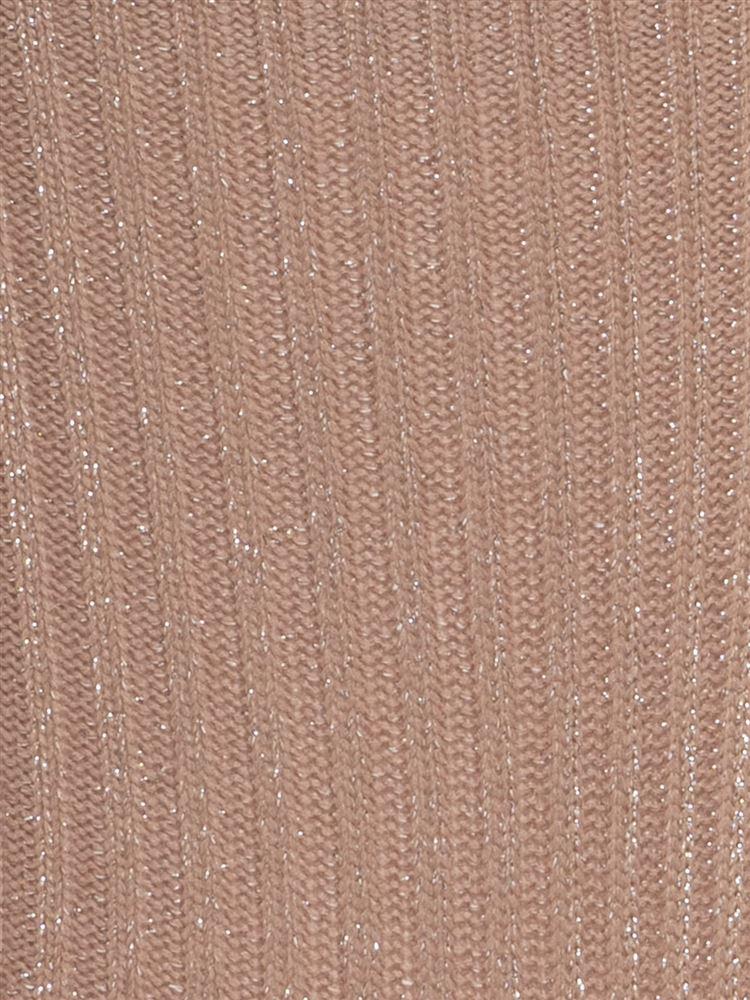 [レディライン]ラメリブソックス15.5cm丈