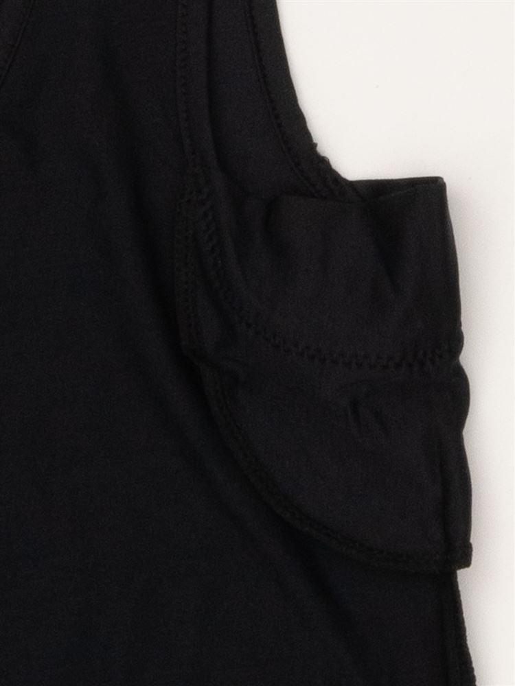 [tutu cool+]タンクトップ汗とりパッド付き