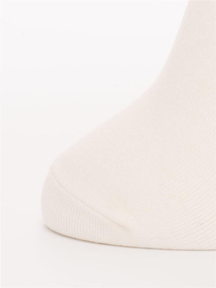 履き口ゆったりワンポイント猫刺繍温調ソックス16.5cm丈