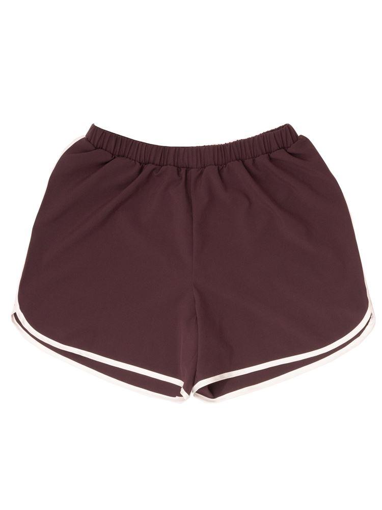[スポーツ]布帛無地ランニングパンツ